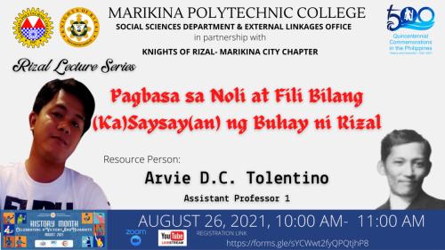 Rizal Lecture Series